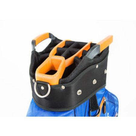 JuCad JuCad Bag Sportlight (Zwart-Wit-Rood)