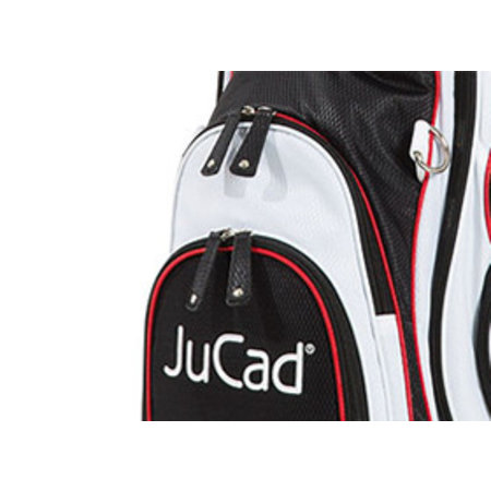 JuCad JuCad Bag Sportlight (Black-White-Red)