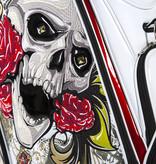 JuCad Luxury Bag Skull Weiss