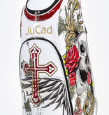 JuCad Luxury Bag Skull White