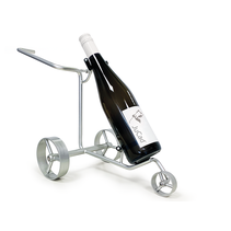 Mini Trolley wijnfleshouder