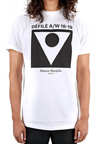 MAISON MARGIELA defile a/w 18-19 white