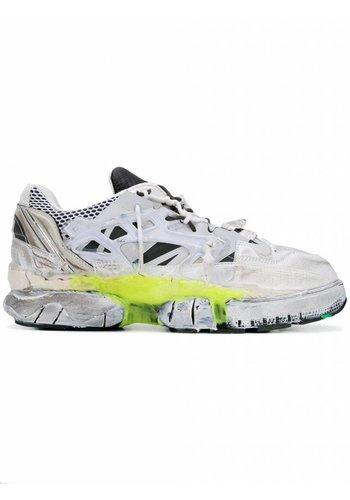 MAISON MARGIELA fusion 2.0 sneakers white neon