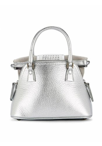 MAISON MARGIELA mini haute shoulder bag silver