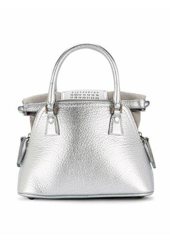 MAISON MARGIELA nano haute shoulder bag silver