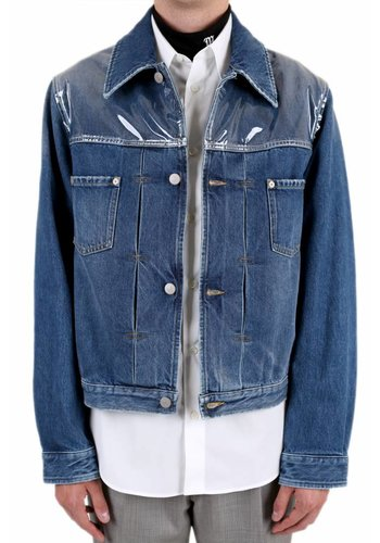 MAISON MARGIELA translucent denim jacket