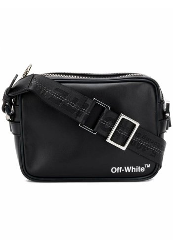 OFF-WHITE crossbody black white