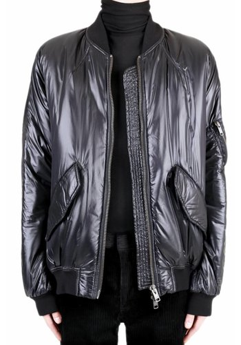 HAIDER ACKERMANN reversible oversized bomber jacket hirst black