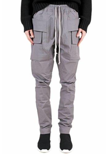 RICK OWENS DRKSHDW creatch cargo pants blue