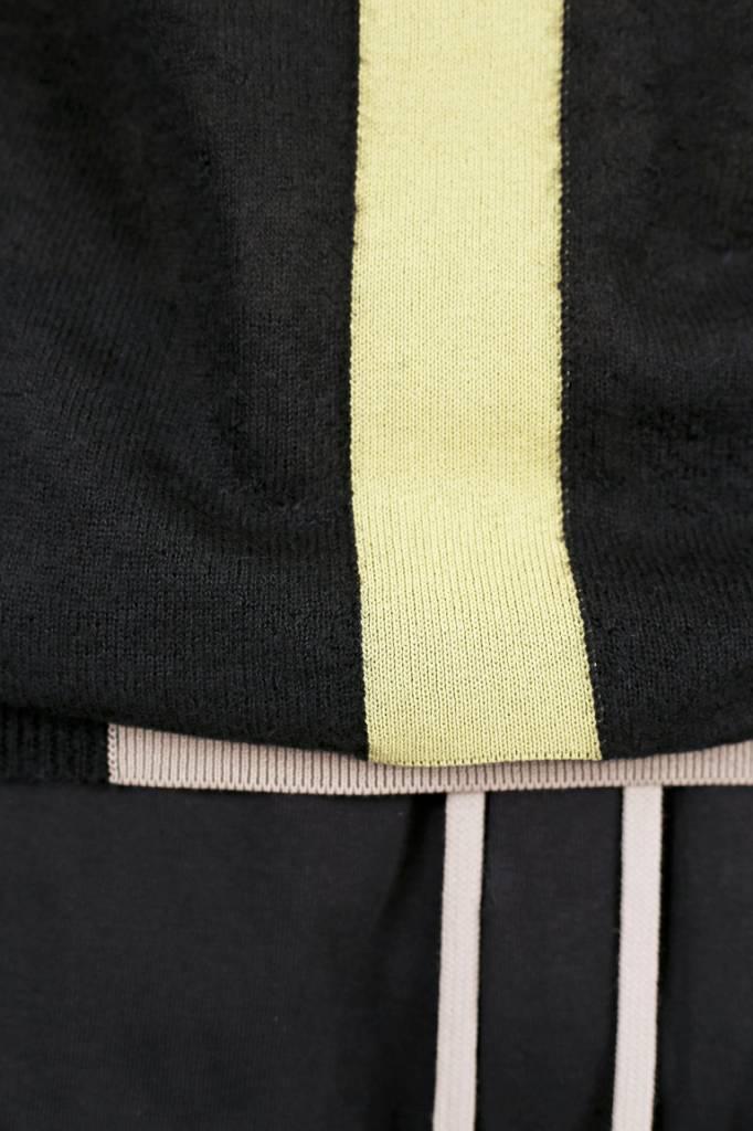 a1628011adcff6 HOODED KNITWEAR BLACK PEARL LIME nieuwe gsm kopen
