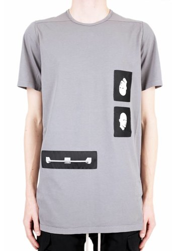 RICK OWENS DRKSHDW level tee blu patches