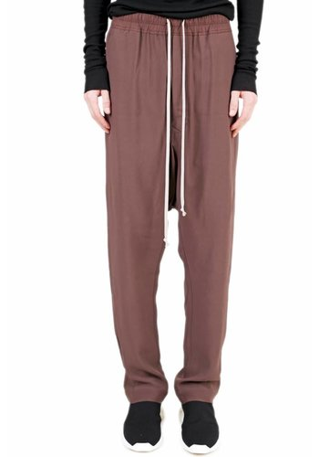 RICK OWENS drawstring long pants raisin