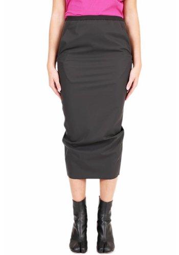 RICK OWENS LILIES matte skirt black