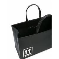 BOX BAG MEDIUM BLACK WHITE