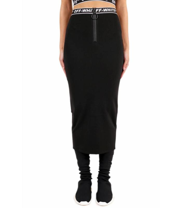 DIAG SIMPLE SKIRT BLACK NO COLOR