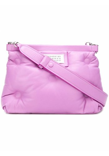 MAISON MARGIELA pink glam slam bag medium