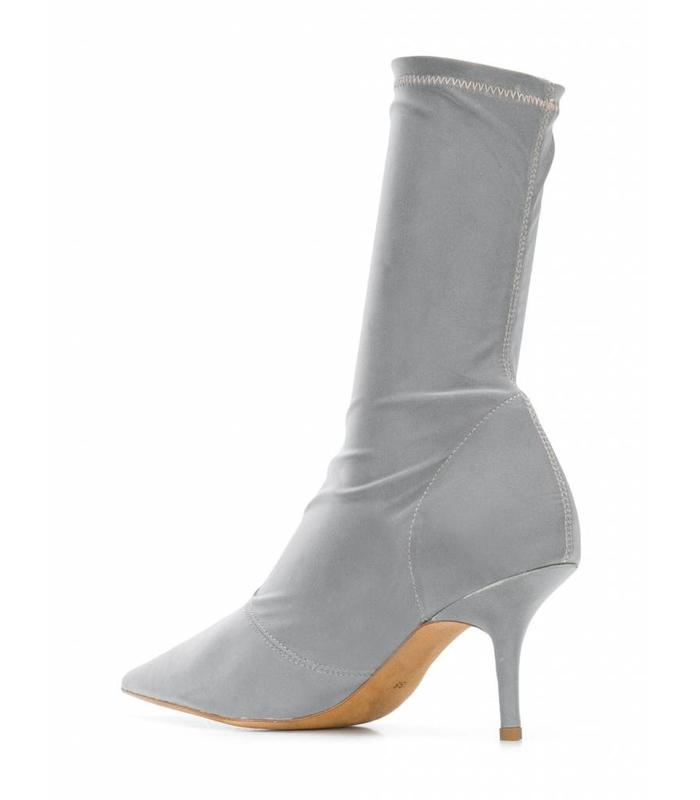 SEASON 7 ANKLE BOOT IN REFLECTIVE FABRIC 70MM HEEL
