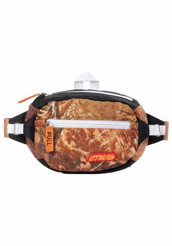 HERON PRESTON стиль padded fanny pack camo multicolor orange