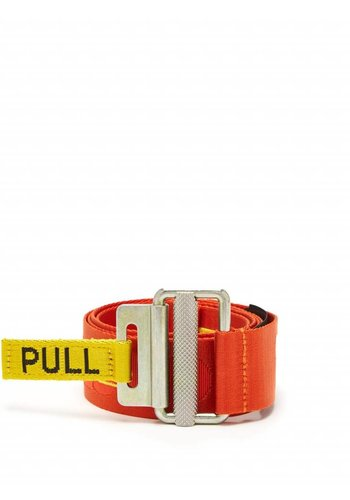 HERON PRESTON embroidery belt orange yellow