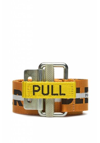 HERON PRESTON handle with care belt orange black