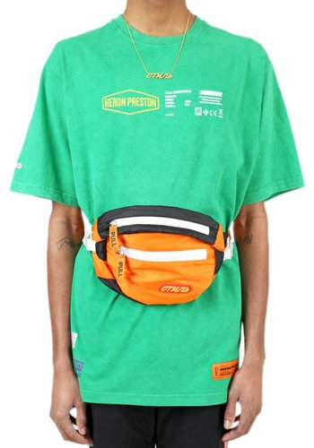 HERON PRESTON t-shirt ss reg heavy duty green multicolor