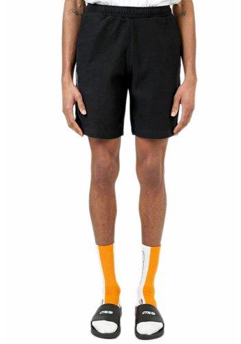 HERON PRESTON short sweatpants стиль outline black white