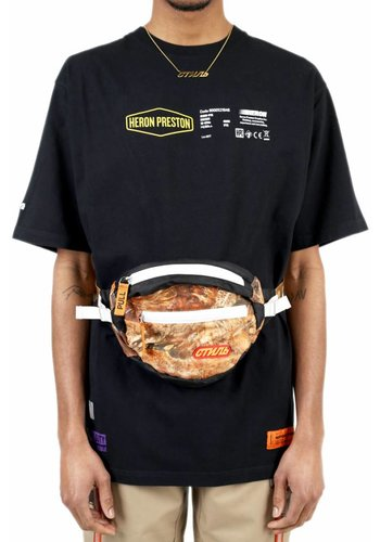 HERON PRESTON t-shirt ss reg heavy duty black multicolor