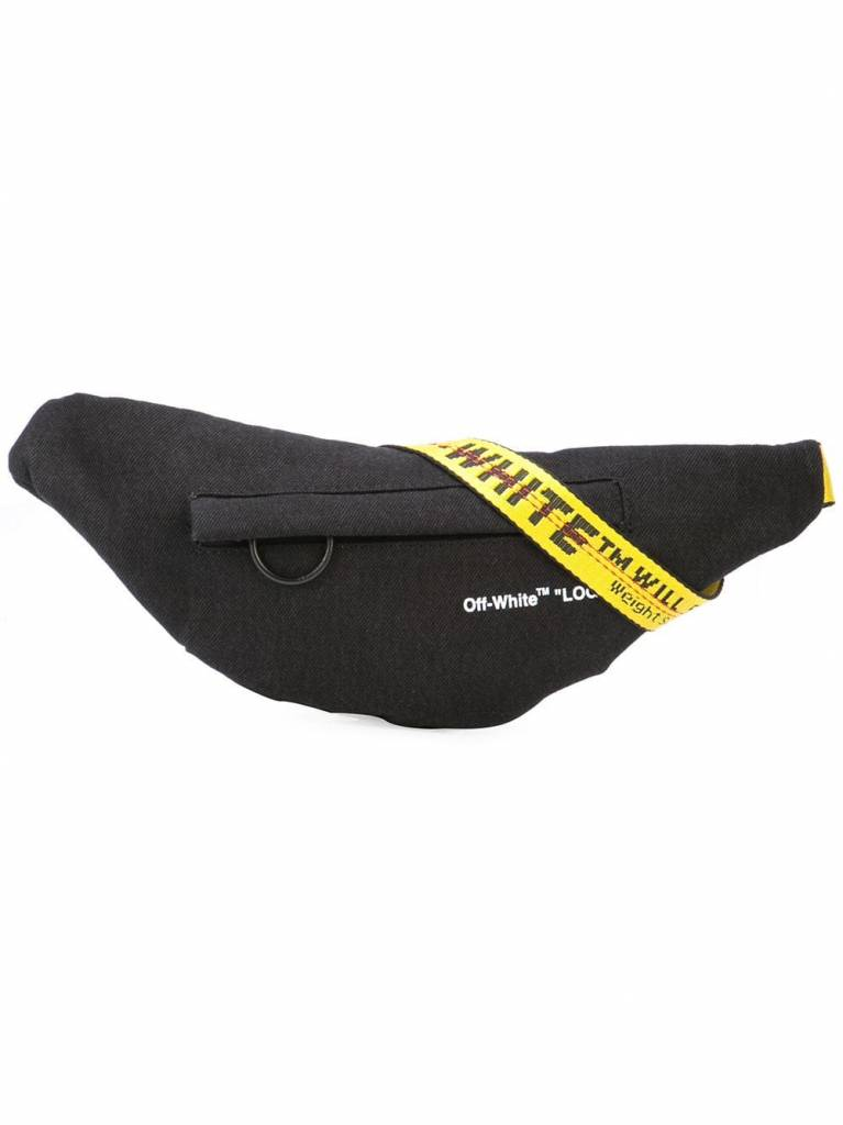 132add0c284d OFF-WHITE WAIST BAG VINTAGE BLACK NO COLOR - Megusta