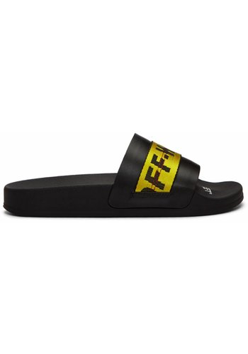 OFF-WHITE industrial slider black yellow
