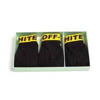 TRIPACK BOXER SHORTS BLACK YELLOW