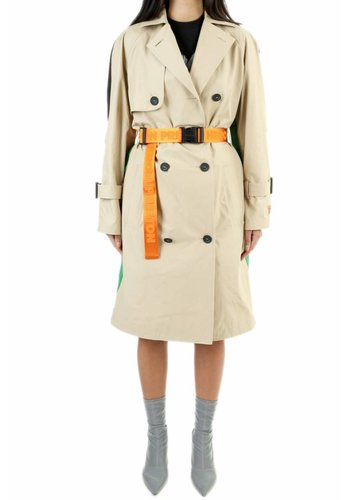 HERON PRESTON nylon trench multicolor beige