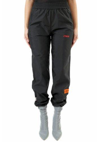 HERON PRESTON nylon elastic pants black pink