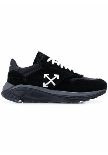 OFF-WHITE jogger black white
