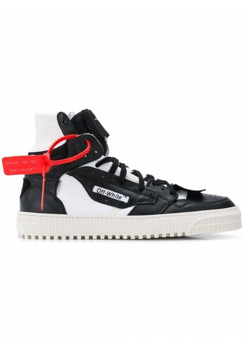OFF-WHITE off court sneaker black white