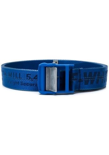 OFF-WHITE industrial belt blue no color