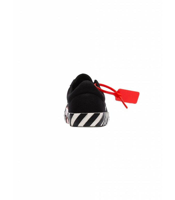 VULCANISED STRIPED LOW TOP BLACK NO COLOR
