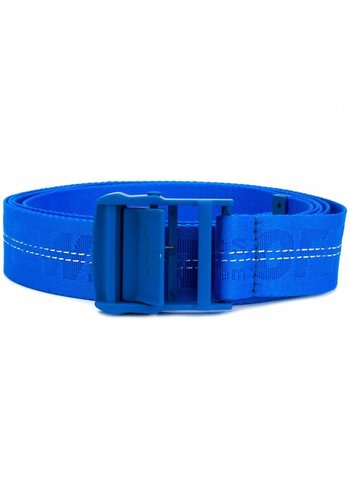 OFF-WHITE classic industrial belt pl blue