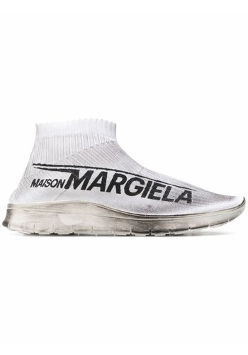 MAISON MARGIELA sock sneaker dirty white black