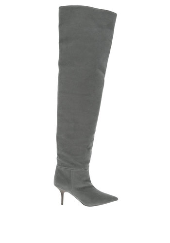 YEEZY season 8 thigh high 70mm akon