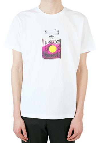 KENZO perfume bottle t-shirt white