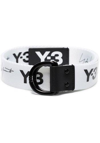 Y-3 yohji belt black white