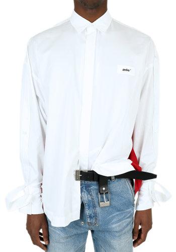 ADER ERROR flip shirt white