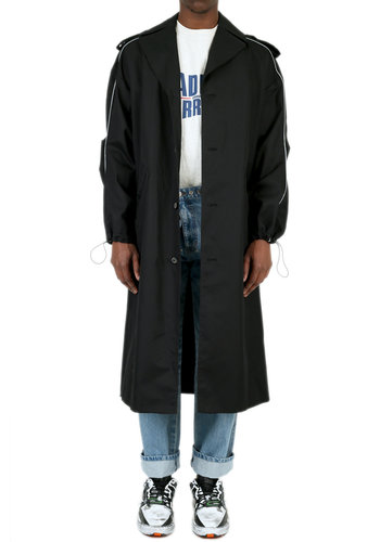ADER ERROR manteau single coat noir