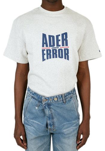 ADER ERROR form logo t-shirt grey