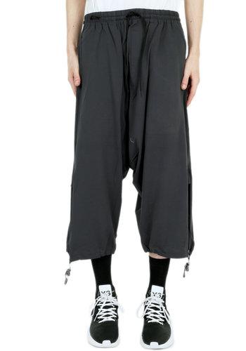 Y-3 drawstring jersey 3/4 pants