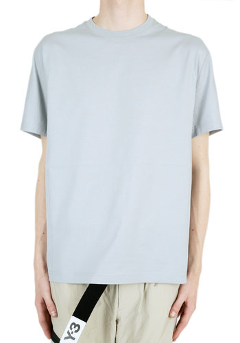Y-3 new classic crew ss tee grey