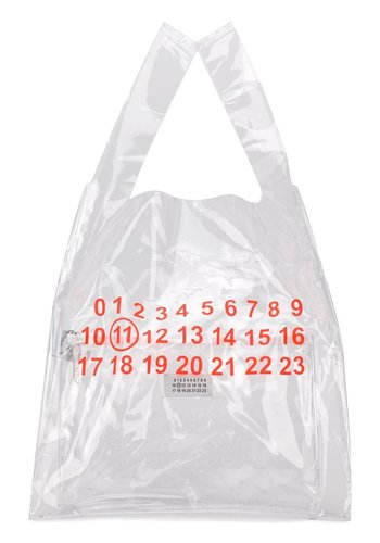 MAISON MARGIELA pvc shopper numbers