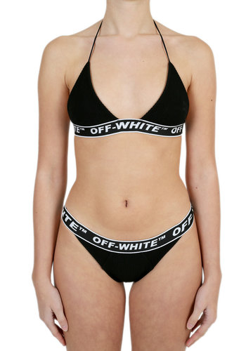 OFF-WHITE cannette industrial bikini black no color