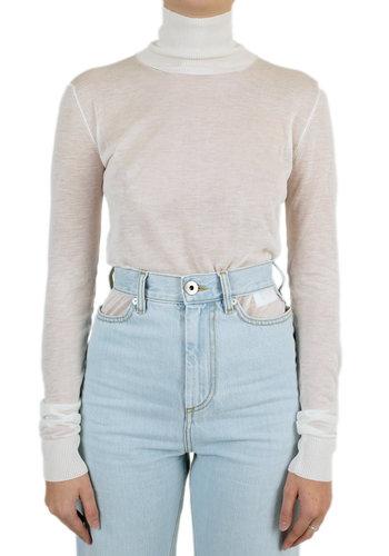 MAISON MARGIELA knitwear tape pullover