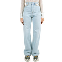 CUT-OUT HIGH-RISE JEANS